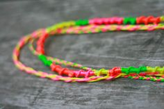 neon friendship necklace-2-2