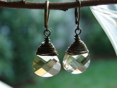 Swarovski Crystal Earrings - Olivia Clare Boutique