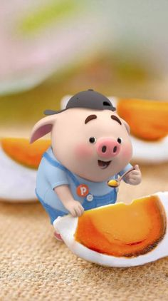 Pig Wallpaper, Cute Baby Wallpaper, Funny Phone Wallpaper, Cute Wallpaper Backgrounds, Cute Wallpapers, This Little Piggy, Little Pigs, Pigs Eating, Cute Piglets