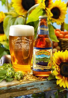 Our Summerfest® is a refreshing, pilsner-style lager. Its incredible smoothness comes from an extra-long lagering period. Lighter in body than our ales but just as complex in character, Summerfest® quenches your thirst with big aroma and a tangy hop bit I Like Beer, More Beer, All Beer, Beers Of The World, Beer Recipes, Beverages, Drinks, Summer Time, Summer Fest