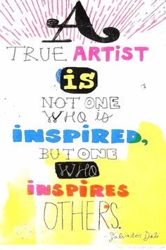 we're all artists. #dali