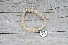 Genuine citrine bracelet small size  citrine by CityZenCharms Success, Abundance, Mental Clarity