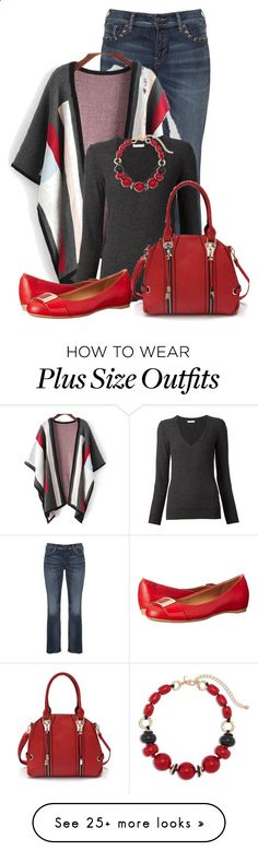 Untitled #13248 by nanette-253 on Polyvore featuring Silver Jeans Co., Chloé, Calvin Klein and Chico's