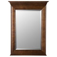 Home Decorators Collection Templin 30 in. x 34 in. Framed Wall Mirror in Coffee 19DVM3034 at The Home Depot - Mobile