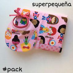 Pack babero Cambiador Superpequeña