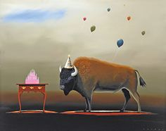 robert-deyber-artist-signed-limited-edition-hand-crafted-stone-lithograph-the-party-animal-iii-4.jpg (432×341)