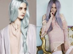 Blue Pastel hairstyles    #pastelhair #hairstyles