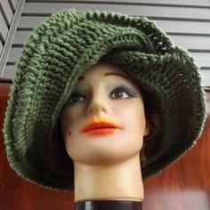 Crochet Wide Brim Hat - FRONTIER SUN Hat $50.00 http://www.etsy.com/listing/123304293/crochet-hat-women-hat-crochet-wide-brim