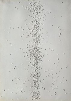 """Exhibition: 'Piero Manzoni. When Bodies Became Art' at Städel Museum, Frankfurt http://wp.me/pn2J2-4Ay Dr Marcus Bunyan. """"Conceptual, sculptural, minimal, monochromatic, corporeal, haptically varied surfaces that are absolutely fascinating…"""" Artwork: Piero Manzoni (1933-1963) 'Achrome' 1962"""