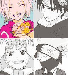 sakura sasuke naruto kakashi
