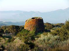 Nuraghe Ruju - Chiaramonti (Sassari, Sardinia)  Diameter - 13,4m  Levels - 2.  Rock - Trachyte.  Rooms - 3.  Height - 6,3m  Age - 3200 y.o.