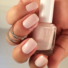 'ballet slippers' is the perfect anytime mani.