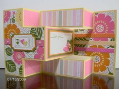 Tri-shutter Card by babystampin - Cards and Paper Crafts at Splitcoaststampers