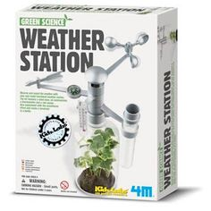 Green Science Weather Station #museumofflight