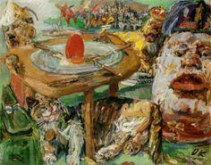 Oskar Kokoschka, The Red Egg, 1940-1941