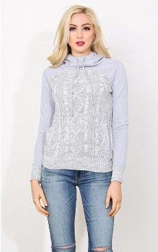Jessica french terry hoodie - $14.99