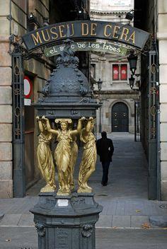 Museu de Cera Wax Museum. Barcelona (Catalonia)