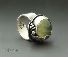 prehnite ring by LauraBouton, via Flickr