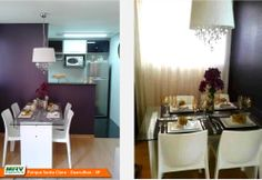 Apartamento decorado 2 dormitórios do Parque Santa Clara no o bairro Cumbica - Guarulhos - SP - MRV Engenharia - Sala