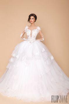 Tony Chaaya 2015 Collection - Bridal - http://www.flip-zone.com/fashion/bridal/the-bride/tony-chaaya-5407