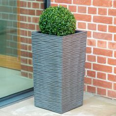 Our Serenity (Wave Line) planters are manufactured from recycled rubber that allows them to withstand extreme freezing conditions, they won't fade stain, rot or crack and are available in a choice of 2 finishes. Fruit Cage, Waves Line, Recycled Rubber, Self Watering, Mold And Mildew, Garden Supplies, Timeless Design, Serenity, Garden Design