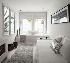 What to do for a narrow, long guest bedroom Villa Mandarina at Costa del Sol by the style files