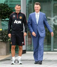 Giggsy and van Gaal- new era of management