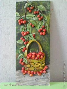 Картина панно рисунок Лепка мой урожай Тесто соленое фото 1