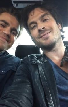 Ian Somerhalder - 23/05/15 - A video for you from Damon and Stefan Salvatore! Check it out! My brotha from another motha Paul Wesley and I are launching a t-shirt campaign together. A portion of proceeds will go to making our Earth a better place but  we need your help designing the shirts! (We are not as talented as you all are) To submit, email ianpauldesign@gmail.com by midnight Eastern time June 1st, 2015. (include…