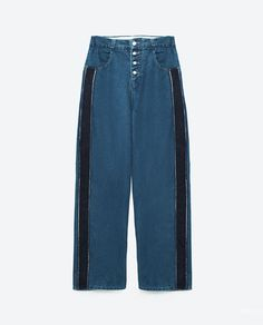 3f4cf2e436cae Image 8 of MOM FIT JEANS WITH SIDE STRIPES from Zara Zara