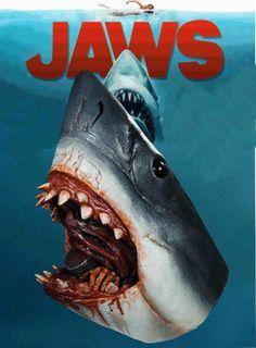 Jaws Halloween Mask