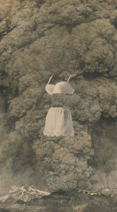 "Georges Hugnet ~ ""Bra and Girdle"" photo collage Via clevelandart Collages, Collage Artists, Photomontage, Altered Book Art, Surrealism Painting, Collage Vintage, Cat People, French Artists, Illustration"