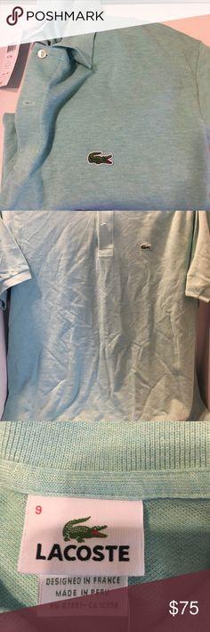 Lacoste polo Corsica Aqua Chine 3XL Lacoste polo Corsica Aqua Chine 3XL Lacoste Shirts Polos