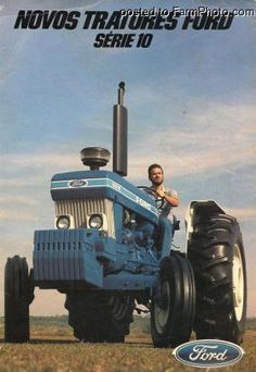 Modern Agriculture, Ford Tractors, Deep Sea Fishing, Ford Models, Farming, Monster Trucks, Antique Tractors, Farmhouse