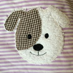 Baby Knitting Patterns Needles Dog Doodle Embroidery File Size: about cm x cm Fringe application … Beginner Sewing Patterns, Easy Sewing Projects, Baby Knitting Patterns, Baby Applique, Applique Patterns, Quilt Patterns, Freehand Machine Embroidery, Sewing Appliques, Animal Pillows