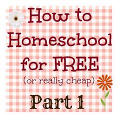 RAQ: How can you homeschool for free (or really cheap)? Part 1 - Jenn's RAQ
