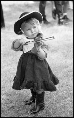 [Child Fiddler] - The Portal to Texas History Gypsy Men, University Of North Texas, Texas History, Girl Standing, Kerchief, Violin, Little Ones, Cowboy Hats, Hipster