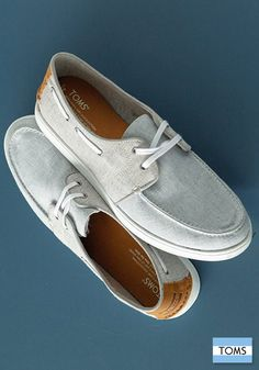 Brand new boat shoes for men: The Culver.