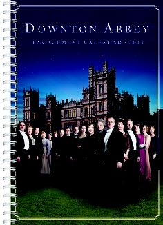 Downton Abbey Engagement Calendar for 2013, published by Workman Publishing, $14.99