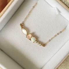 Rainbow Moonstone, Opal, Rose Quartz and Diamond Wish Pendant