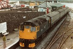 Scottish Region photos - UK Prototype Discussions (not questions! Electric Locomotive, Diesel Locomotive, Kyle Of Lochalsh, British Rail, Old Trains, Rolling Stock, Rats, Scotland, Type