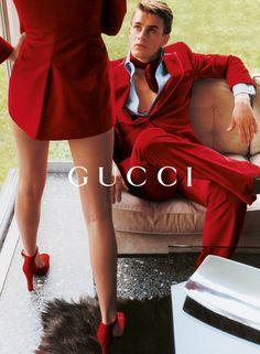 """lelaid: """"Georgina Grenville & Ludovico Benazo by Mario Testino for Gucci F/W 1996 """""""
