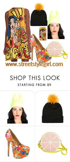 """""""Comic Art Fashion with a Pop Art vibe"""" by streetstylegirl-leahg ❤ liked on Polyvore featuring Topman and Shoe Republic LA"""