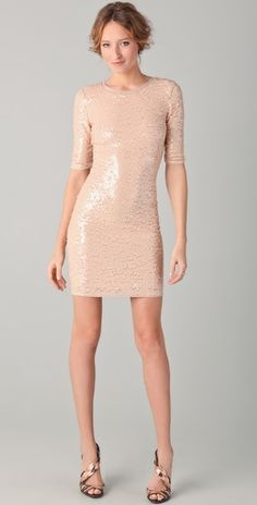 BCBGMAXAZRIA  Marta Sequin Dress  $338.00
