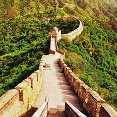 Who wants to take a walk on the great wall? #greatwall #greatwallofchina #china #travel Follow @ilovetravelbugblogger