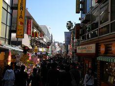 Takeshita Street en Harajuku, Tokio