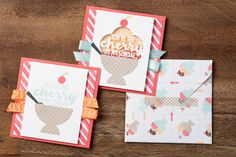 Make simple cards with the Cool Treats bundle, or step them up by creating an interactive shaker card. #stampinup #OccasionsMini2017