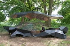 Stealth Pavillion by Paul Segers - I Like Architecture