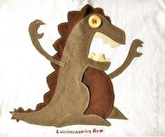 Dino T-shirt #DIY #Kids by millie