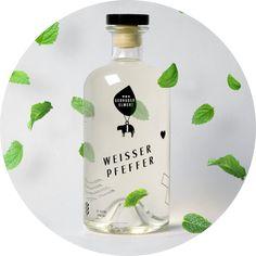 Weisser Pfeffer - Pfefferminzlikör